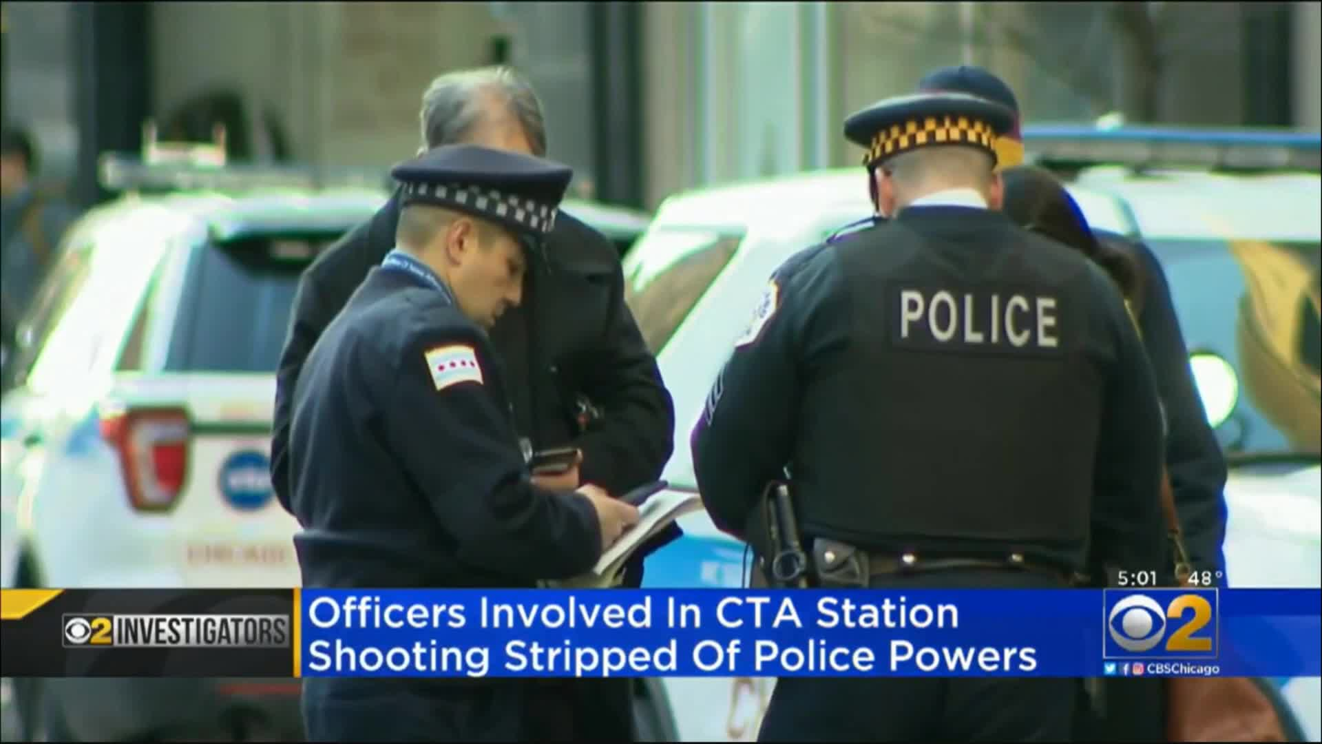 COP in CTA shooting stripped of police powers