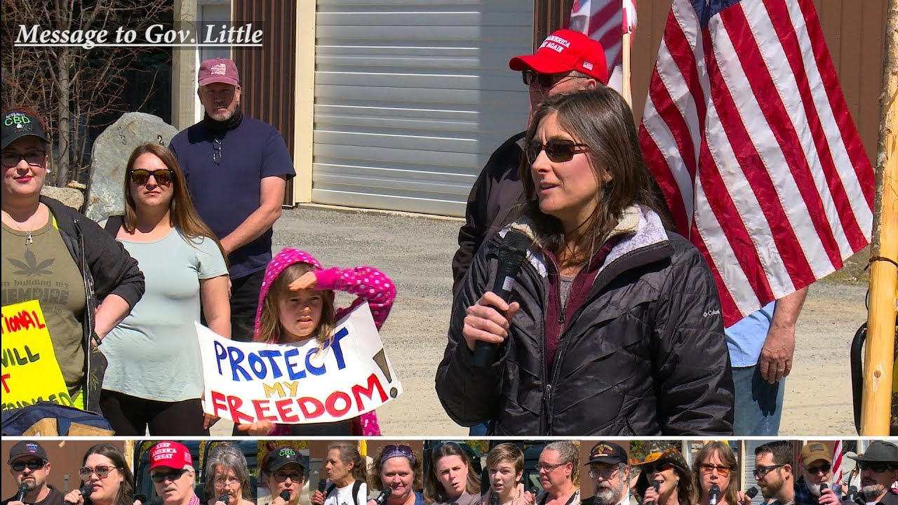 North Idaho Rally for Freedom April 17, 2020