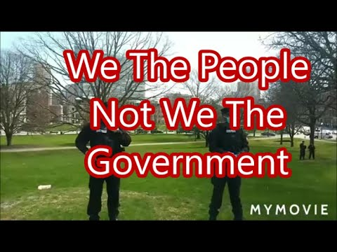 We The People Not We The Government Take Back Our Freedom