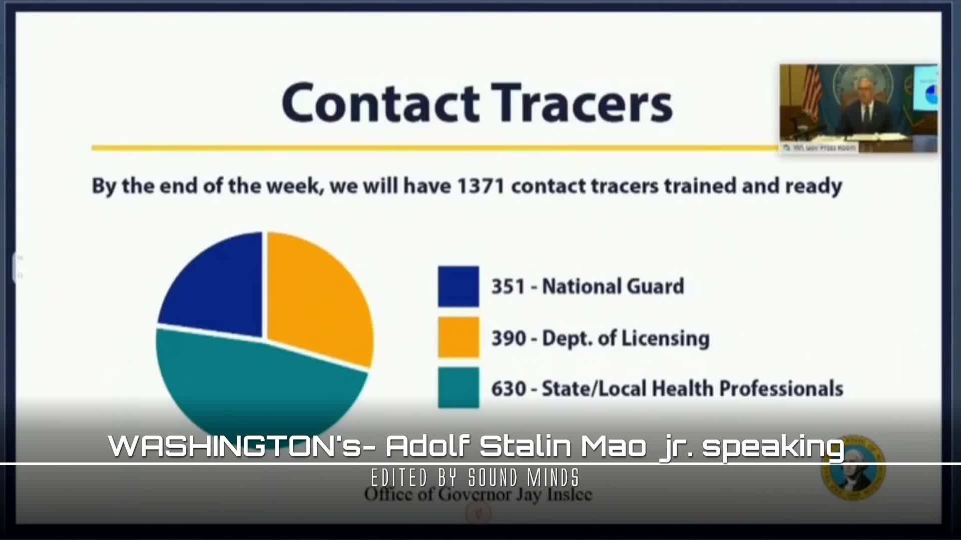 WASHINGTONs - Adolf Stalin Mao jr. SPEAKING with MILITARY and YOU