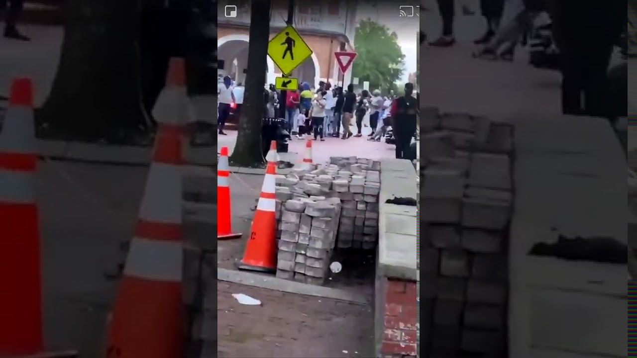 Fayetteville NC: More piles of bricks found at protest sight
